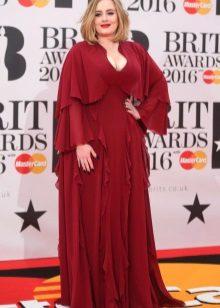 Adele op BRIT Awards 2016