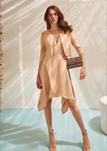 Flared kort klänning