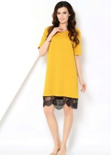 A-Line Yellow Dress