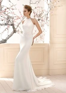 Berpakaian dengan perkahwinan baju lengan Amerika