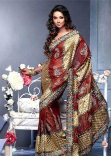 Klänning sari national