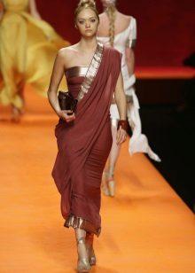 Klänning sari kort