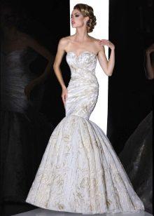 Klänning sjöjungfrun bröllop