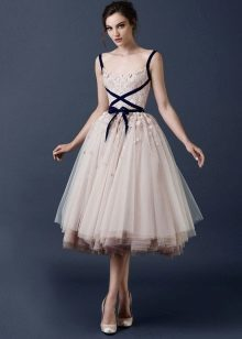 Midi tutu klänning
