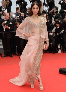 Modern sari klänning