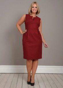 Liinavaatteiden mekko lihaville naisille