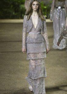 Gelaagde jurk van Elie Saab