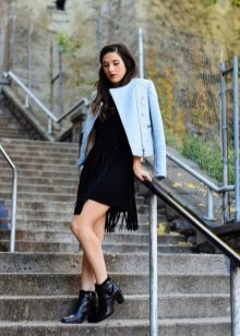 Outerwear to A-line dress