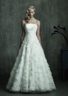A-Line Wedding Lace Dress