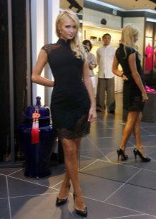קצר תלבש zip-up שמלה (שמלת chongsam)