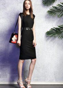 Sheath Dress with Bag