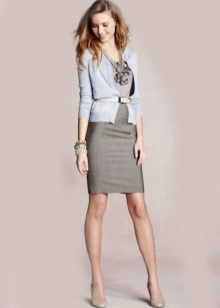 Cardigan Sheath Dress