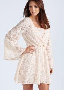 Doorzichtige Kimono-jurk