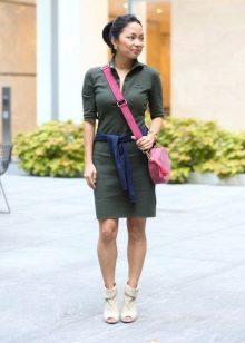 מגפיים עם ניקוב שמלת פולו