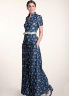 שמלת פולו ארוכה