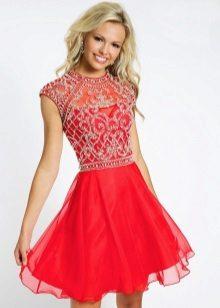 Elegante jurk met raglanmouwen