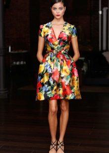 Rochie colorată cu miros