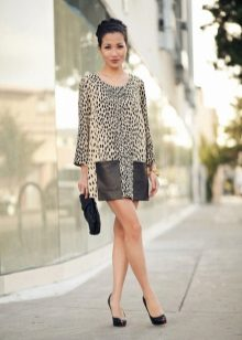 Leopard Shift Dress