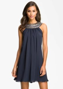 Chiffon A-lijn jurk