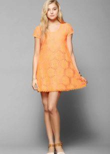 Korte A-lijn jurk