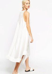 Witte jurk A-lijn