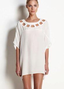 White dress tunic