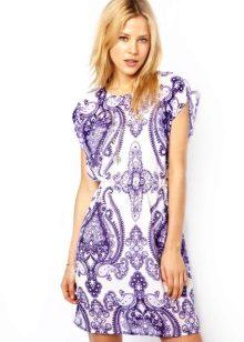 שמלת טוניק עם הדפס
