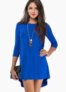 Blue dress-tunic