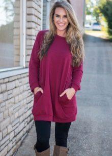 Vinterklänning-tunika