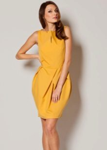 Yellow Tulip Dress