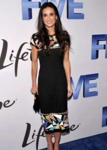Inverted Triangle Dress - Demi Moore