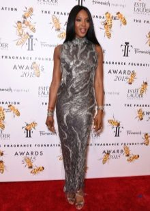Inverted Triangle Dress - Naomi Campbell