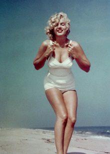 Marilyn Monroe - figură pentru clepsidră