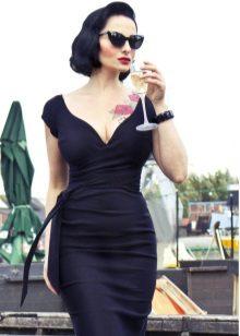 Rochie pentru femei cu o cifră Hourglass
