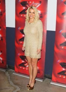 Kjoler til figurtype Apple - Britney Spears
