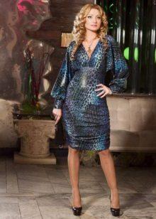 Brilliant high-waisted dress