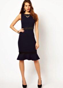 Flared kjole med skjørtår