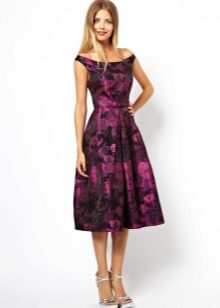 Midi Flared Dress