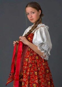 Russian sundress for young chews