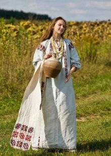 Russian folk dress - ethno-style
