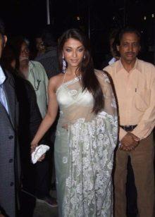 Aishwarya Paradise Transparente Saree Sari 2006