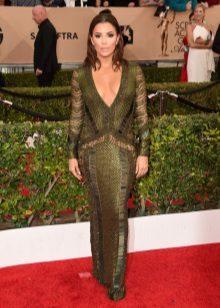 Eva Longoria in een jurk van Julien Macdonald