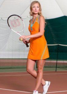 Neulottu tennispuku