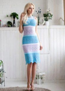 Trikotažo pavasario suknelės spalva
