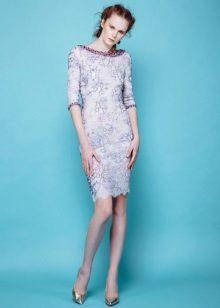 Pavasario apvalkalo suknelė