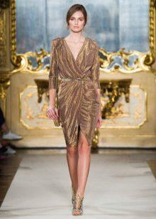 Pavasario suknelė su aukso kvapu