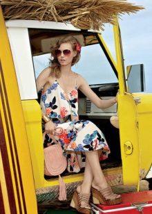 Summer Beach Flower Dress