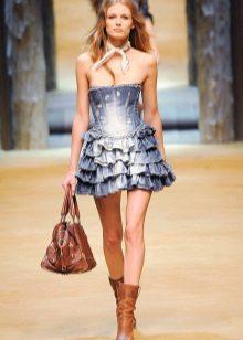 Лятна рокля от дънки