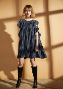 Autumn dress-wool tunika