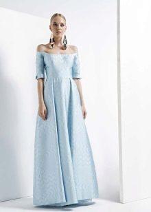 A-linje stroppeløs kjole